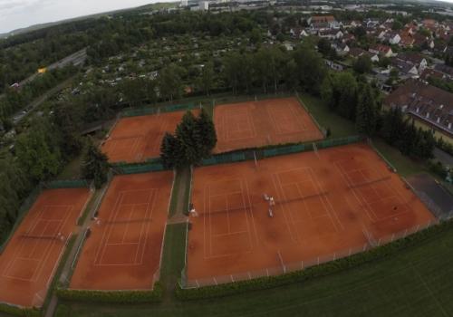Tennisanlage Süd mit Tennishalle